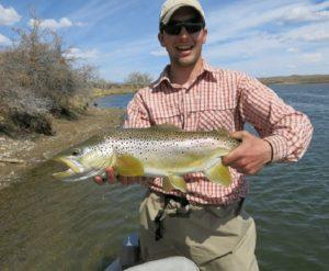 Wyoming Fly FIshing Guide Tyler Soulek